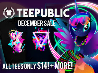 December Sale: MLP T-Shirts Now $14 + Brand New Designs!