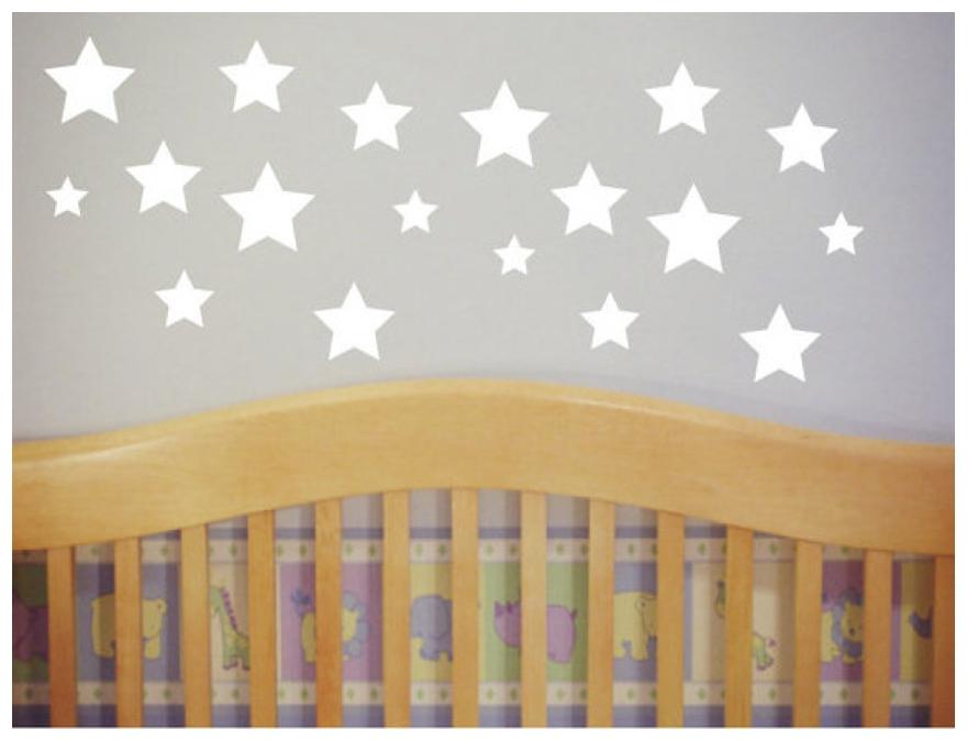 Lovely S For A Star Themed Nursery