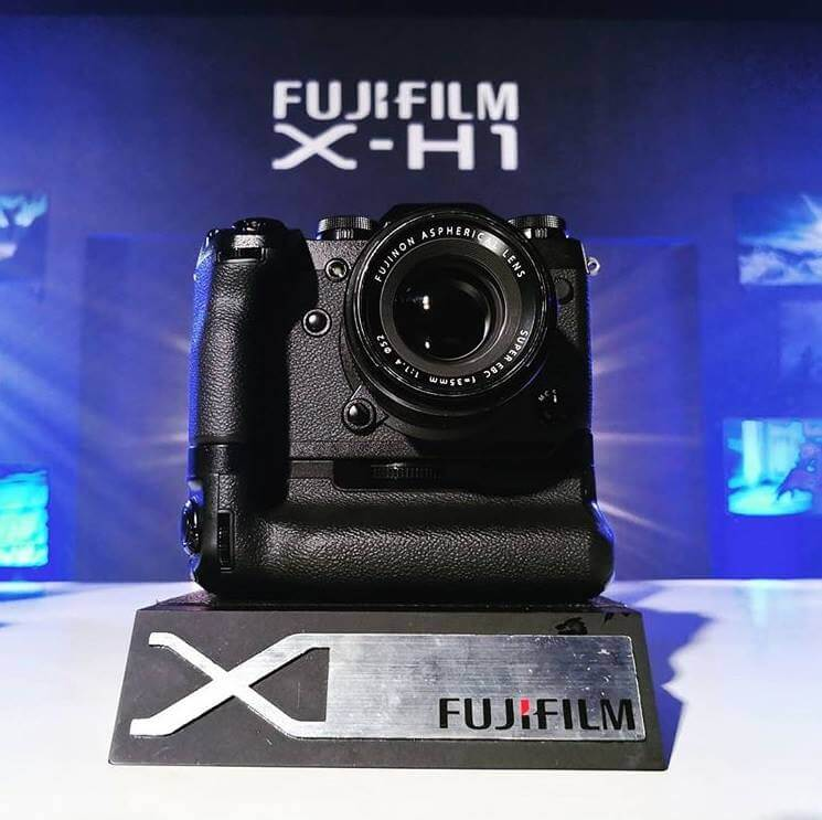 Fujifilm X-H1 Launches in the Philippines; Yours for Only Php106,990!