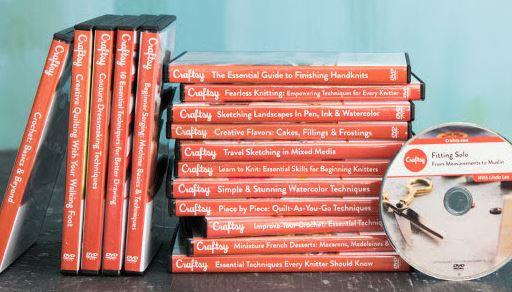 Craftsy DVDs