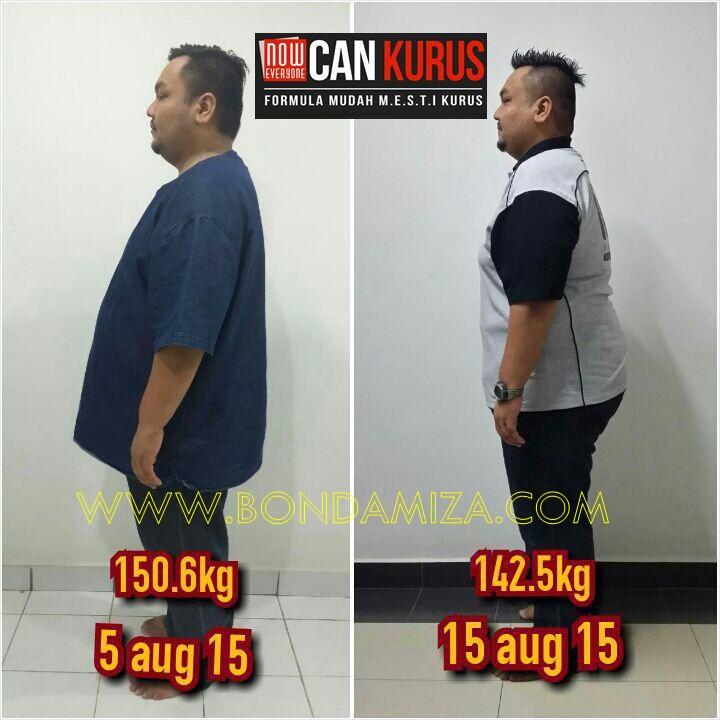 Turun Berat 8 kg Dalam 2 Hari