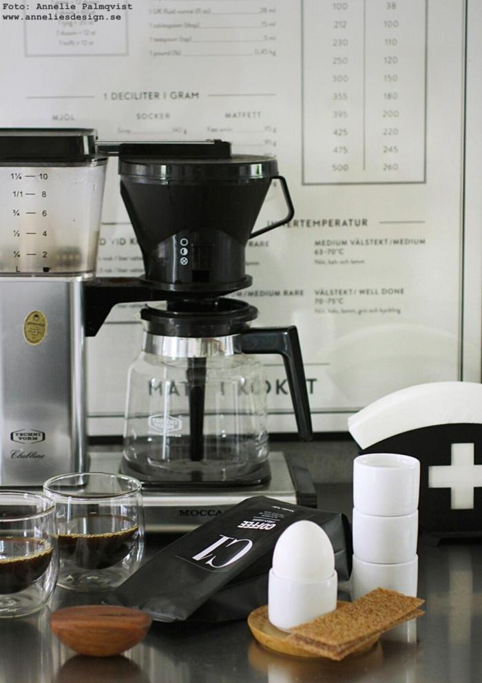 annelies design, webbutik, webbutiker, webshop, nätbutik, inredning, äggkoppar, filterhållare, kaffe, kaffefilter,