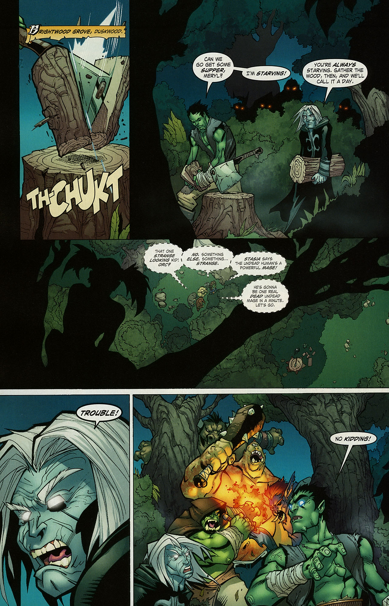Read online World of Warcraft comic -  Issue #15 - 11