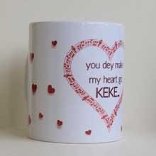 Pidgin English Lovers Valentine's Day Gifts, Ceramic Mugs in Port Harcourt, Nigeria