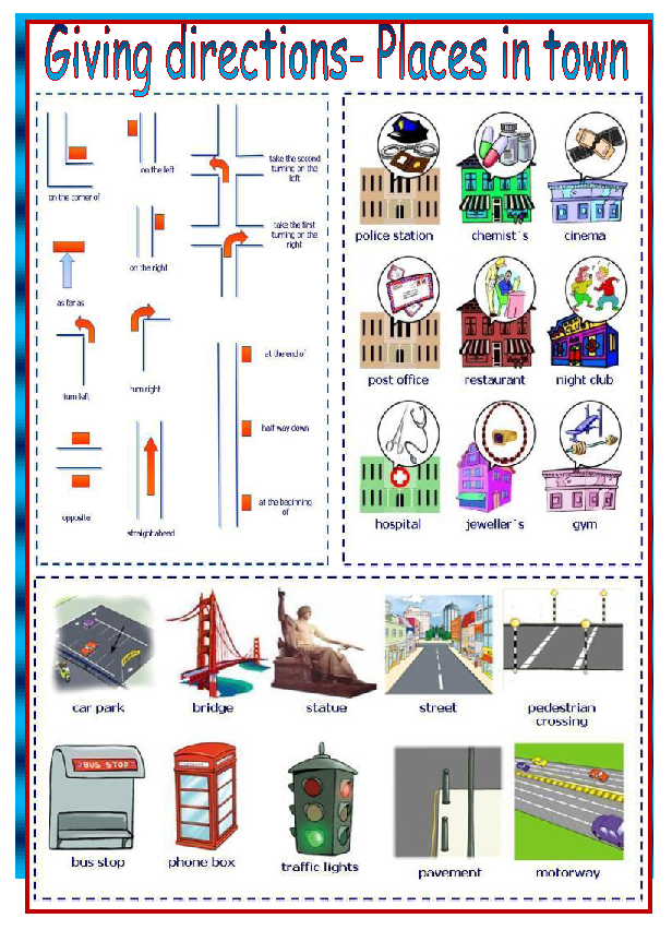 Small Giving Directions additionally Giving Directions as well Asking For Directions Map besides Places Bin Btown furthermore Different Ways To Ask For Help. on asking for giving directions useful