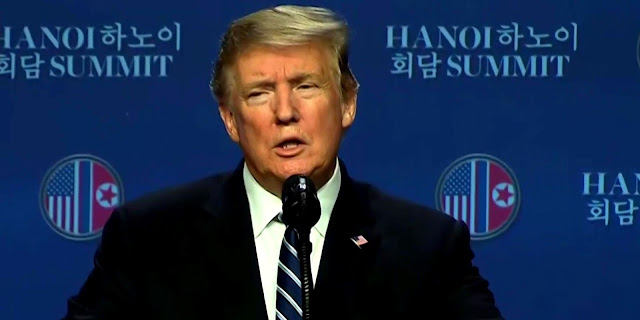 Cover Image Attribute: President Donald J. Trump at Post Hanoi Summit Press Conference, JW Mariott, Hanoi / February 28, 2019,/ Source: Video Screengrab