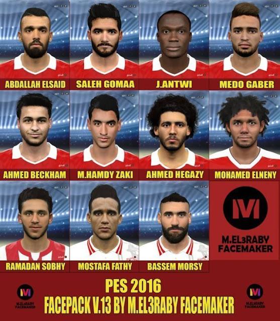 PES 2016 New Facepack v.13