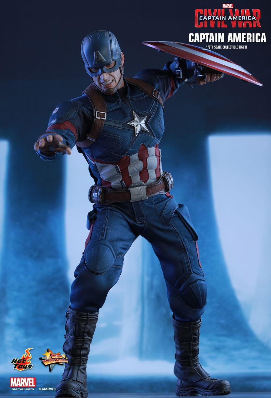 Captain America Civil War Rollen