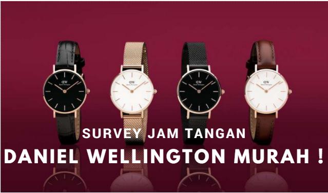 Jam Tangan Daniel Wellington Murah