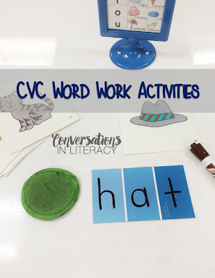 using paint strips to stretch out cvc words