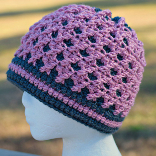 Roses's Crossing Beanie - Free Pattern