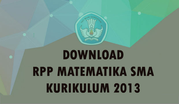 download RPP Matematika Kurikulum 2103 Revisi