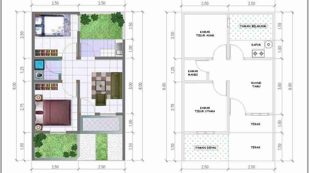 Desain Rumah Luas 200 Meter Persegi Sekitar Rumah
