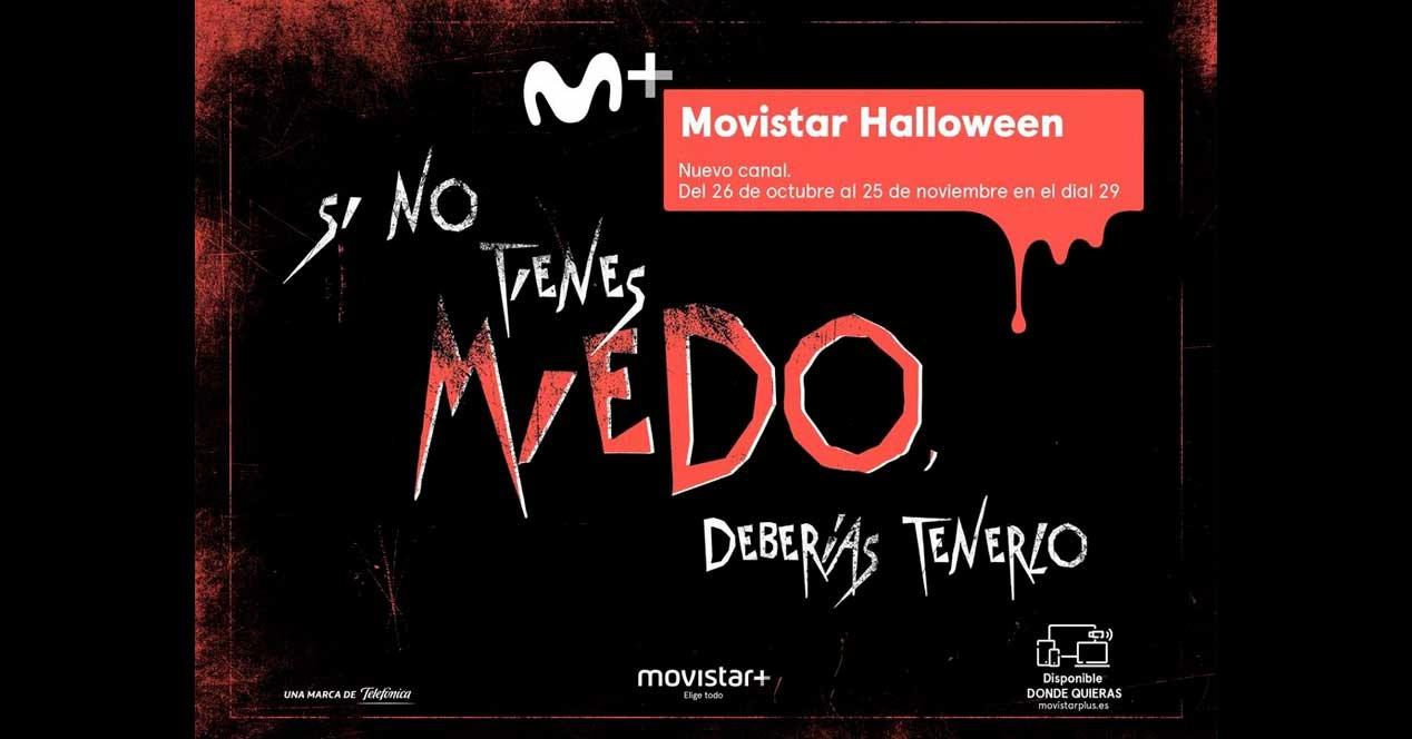 Movistar Halloween estará disponible del 26 de octubre al 25 de noviembre