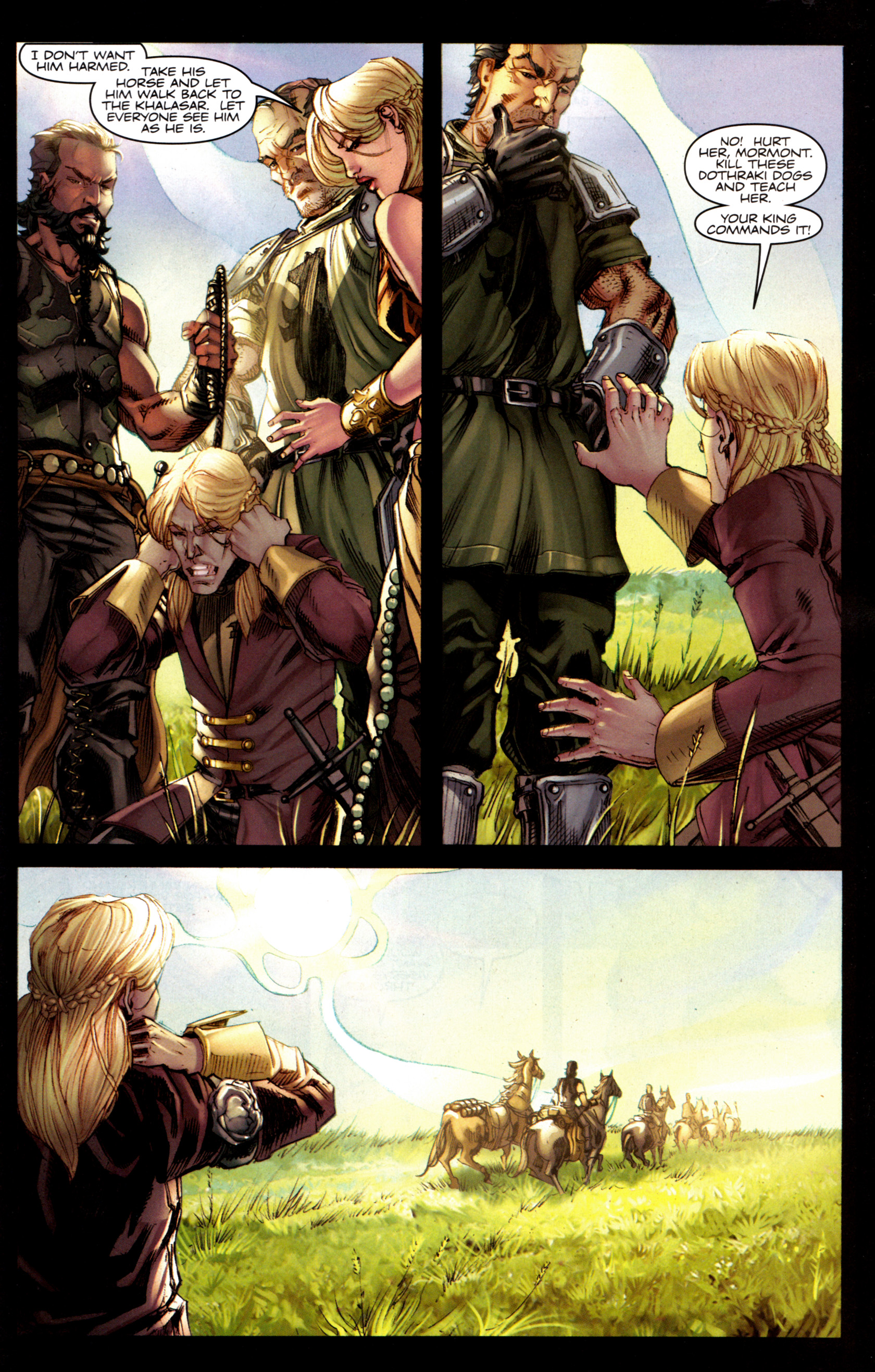 Read online A Game Of Thrones comic -  Issue #6 - 25