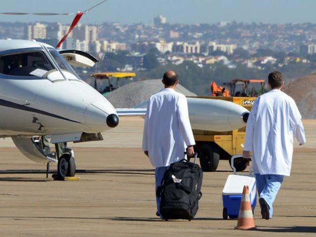 Número de órgãos e tecidos transportados por companhias aéreas sobe 9% em 2017