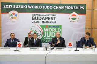 Campionatul Mondial de Judo de la Budapesta 2017
