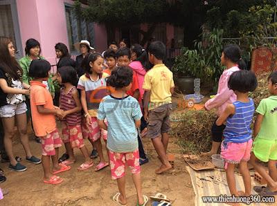 Tấm lòng nhân ái: Nhóm trẻ nhân đạo ở Tà Nung