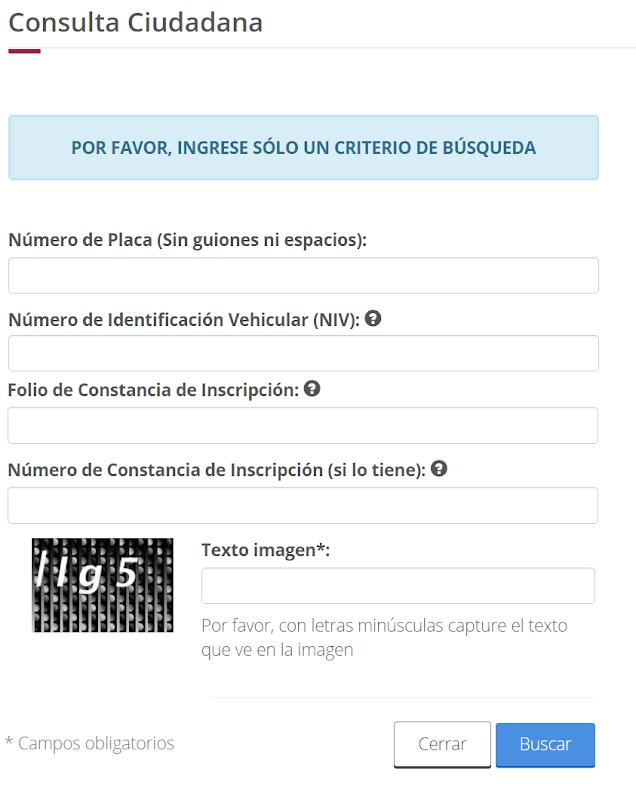 Repuve.gob.mx consulta rapido por celular o telefono en la aplicacion SMS gratis motos y camionetas