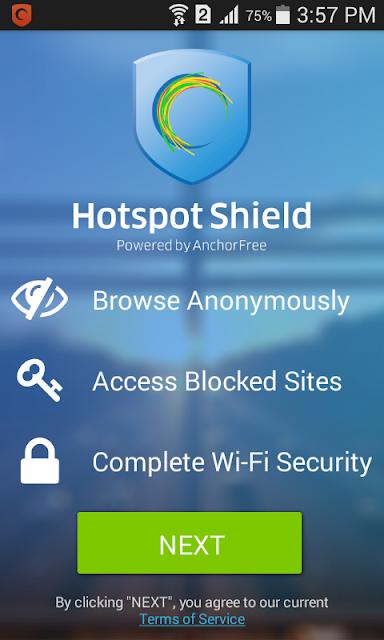 Hotspot Shield VPN Elite Latest Cracked APK [Latest]