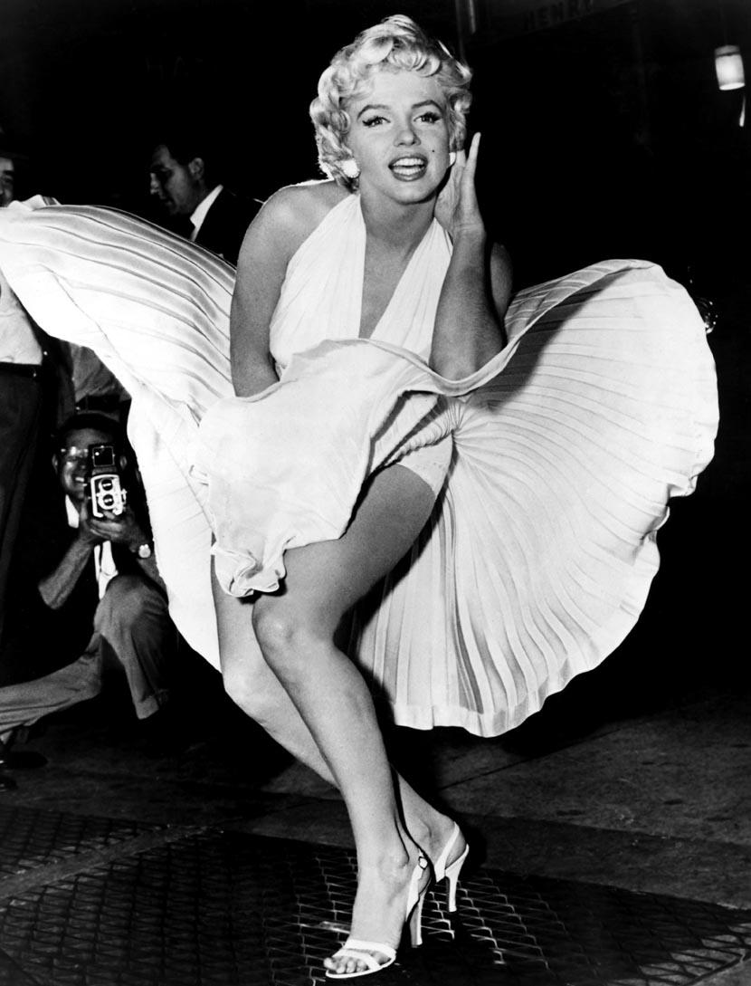 Marilyn Monroe Brez Golih Slik