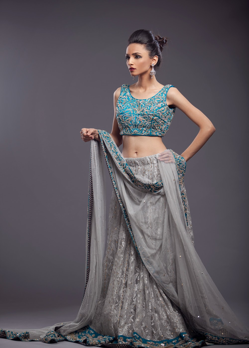 Ayesha Somaya bridal lehnga choli