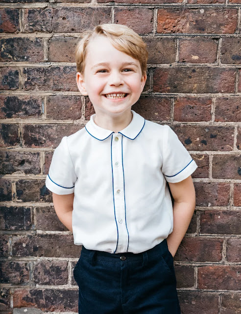 Prince George Who Is Very Chatty And Charming Takes a Little While to Warm Up