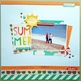 Crafts 4 Eternity August Page Kit ~ Summer