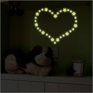 Glow in the dark Valentine's Day Proposal Idea