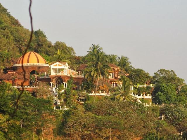 Fort Aguada, Sinquerim, Goa, India. Jimmy´s Palace