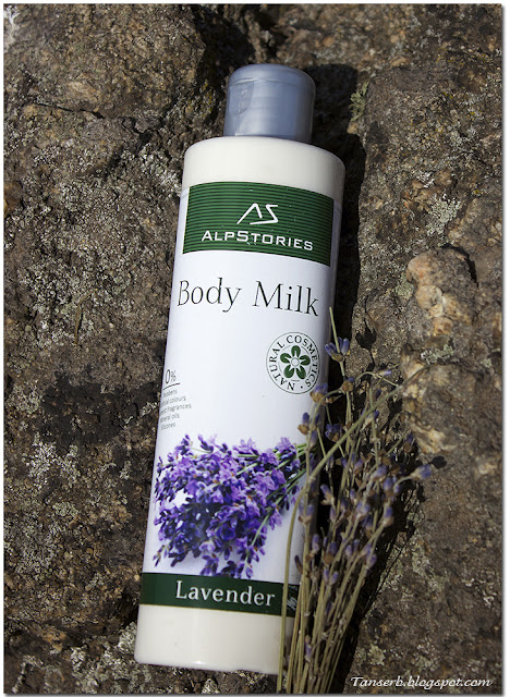 AlpStories Body Milk Lavander