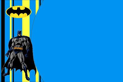 Batman Free Printable Invitations. - Oh My Fiesta! in english
