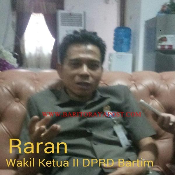 Wakil Ketua II DPRD Bartim Raran: APB Tidak Punya Hak Atas Jalan Eks Pertamina