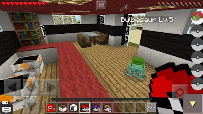 free and modern Minecraft PE mod that will let you change your gameplay experience with o Pokedroid PE v2.1 APK