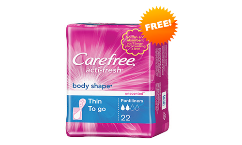 FREE 7 Days of Fierce Carefree Liners Kit, FREE Carefree Liners Kit, Carefree Liners FREE Kit, FREE Kit of Carefree Liners, FREE Carefree Liners, FREE Liners of Carefree, Carefree FREE Liners, Carefree, FREE Liners