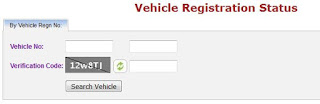 Vehicle Regstration Status