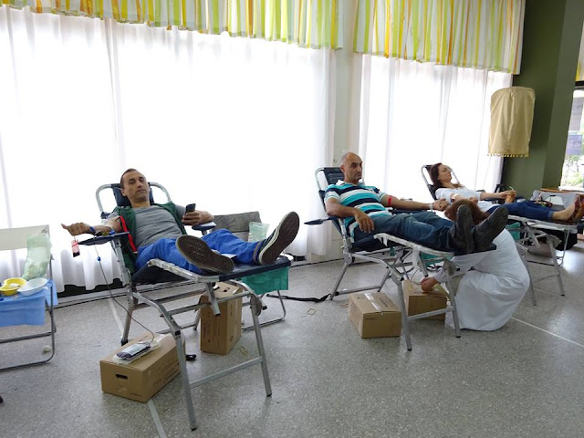 Εθελοντική αιμοδοσία, με αφορμή την επέτειο Μνήμης της 19ης Μαΐου, πραγματοποίησε η ΕΠΟΝΑ