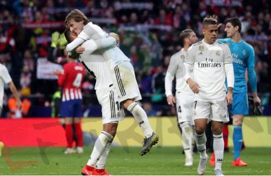 انتهاء سلسله تعادل كبيرة ل ريال مدريد - اهداف مباراة ريال مدريد واتلتيكو مدريد
