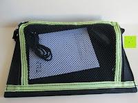 Netztasche: Kalibri® Solar Ladegerät für umweltfreundliches Laden von Smartphone, Tablet, iPhone und iPad