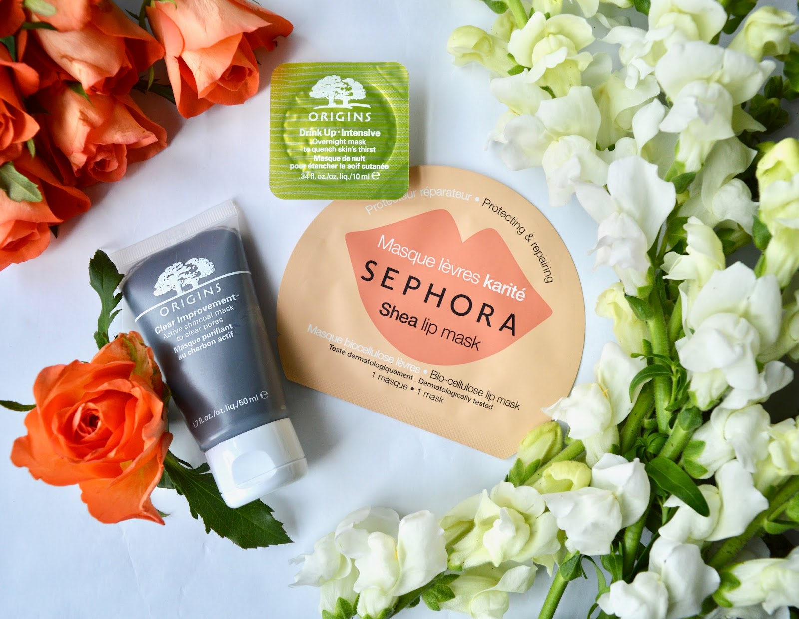 Face masks from Sephora