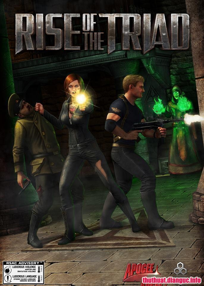 Download Game Rise of the Triad Reloaded Fshare