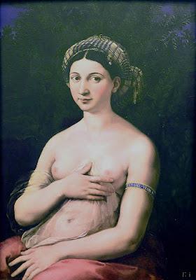 Raphael - la Fornarina,1518-1519