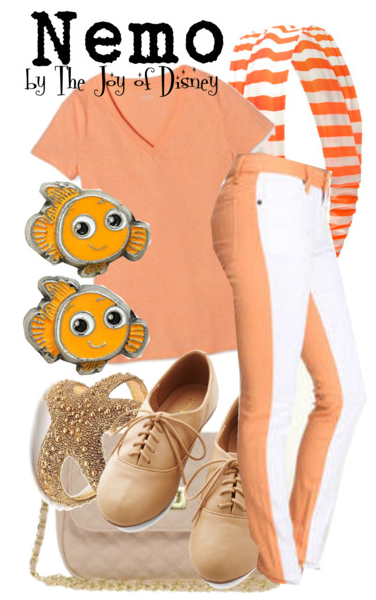 Finding Nemo Inspired Outfit