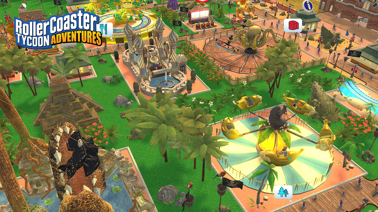 Atari® Brings Iconic Theme Park Management Series to Nintendo Switch with Release of RollerCoaster Tycoon® Adventures