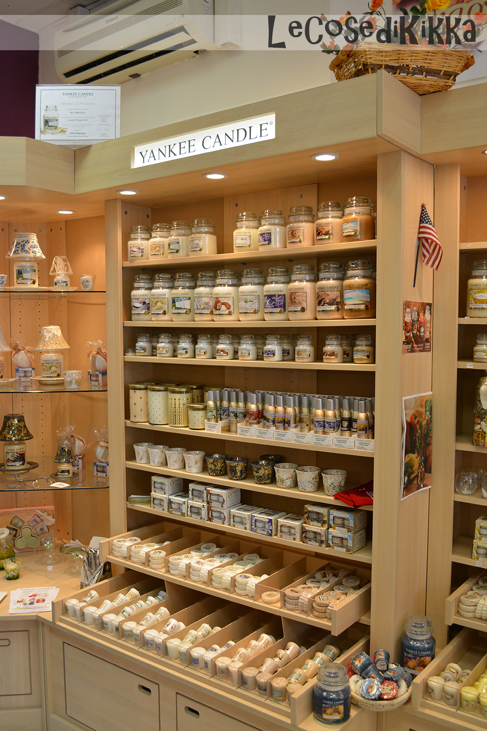 Lecosedikikka candles store yankee candle for Mobili yankee candle