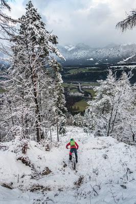 Schöne Aussicht Wanderweg Eisstein Wörgl