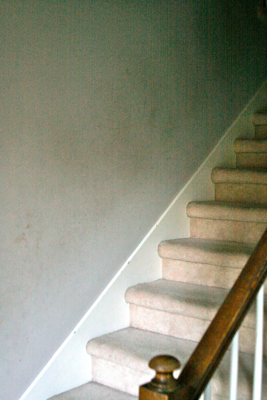 Grass Stains Before And After The Stairwell
