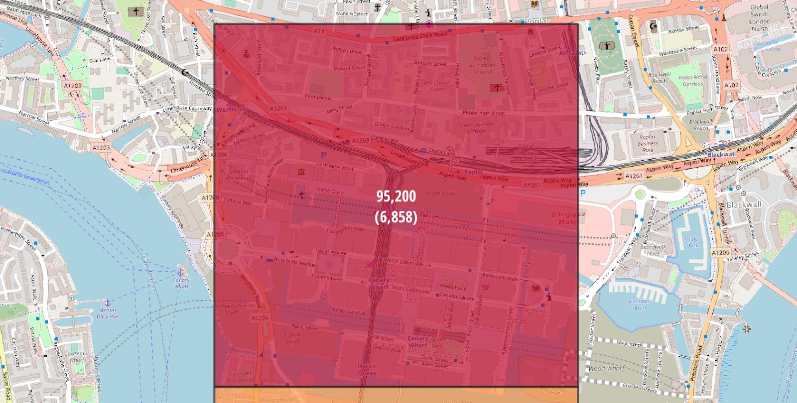 London Tower Hamlets Stats Maps n