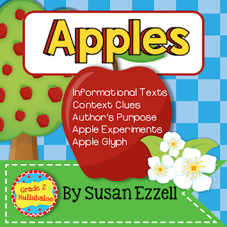 informational texts about apples, second grade