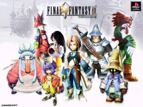 Nostalgia Game Final Fantasy IX - Zidane